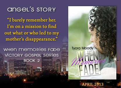When Memories Fade Virtual Book Tour with @tyoramoody begins April 1, 2013  #victorygospel