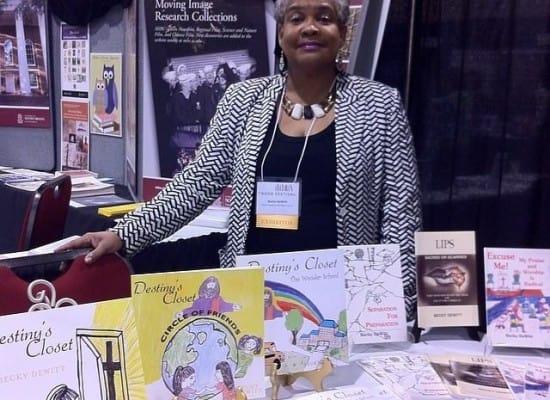 Becky DeWitt at SC Book Festival