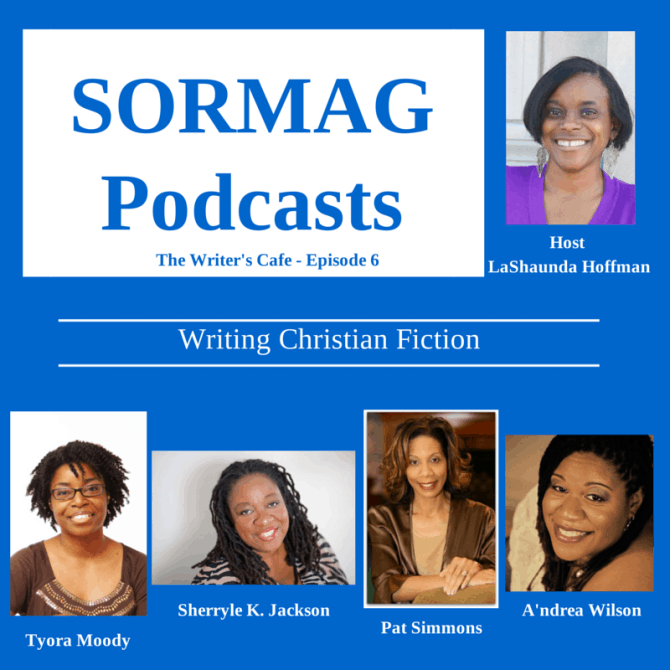 @tyoramoody on Christian Fiction Writing Panel on @SORMAG Podcast