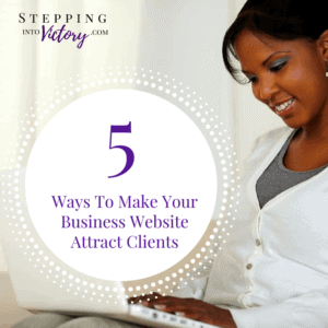 Business Website Attract Clients
