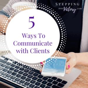 5 Ways To Communicate