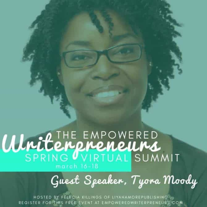 Register for the 2017 Writerpreneurs Spring Virtual Summit, March 16-18, 2017